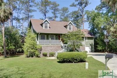 Savannah Single Family Home For Sale: 5 Cedar Cove