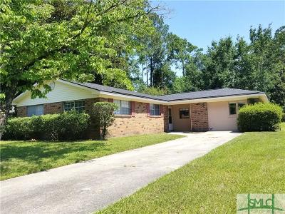 Savannah Single Family Home For Sale: 1416 Blakeley Road
