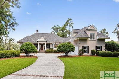 Savannah Single Family Home For Sale: 2 River Otter Lane