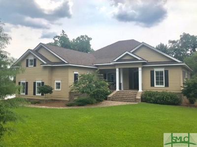 Savannah Single Family Home For Sale: 1 Spring Marsh Lane