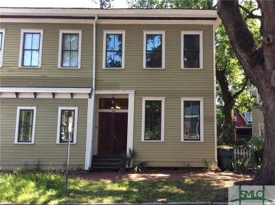 Savannah Condo/Townhouse For Sale: 304 E Duffy Street