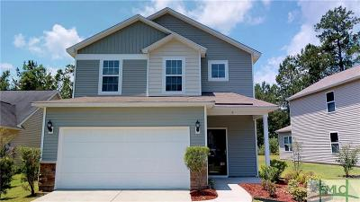 Pooler Single Family Home For Sale: 4 Hamilton Grove Drive