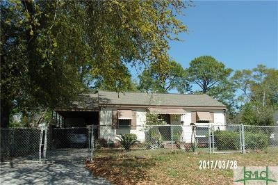 Savannah Single Family Home For Sale: 2208 Hawthorne Street