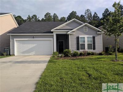 Savannah Single Family Home For Sale: 85 Crystal Lake Drive