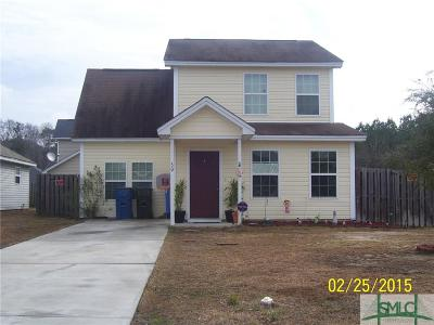 Port Wentworth GA Single Family Home For Sale: $130,000