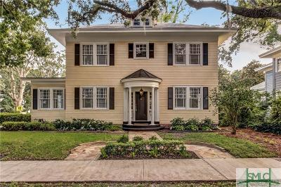 Savannah Single Family Home For Sale: 137 E 46th Street