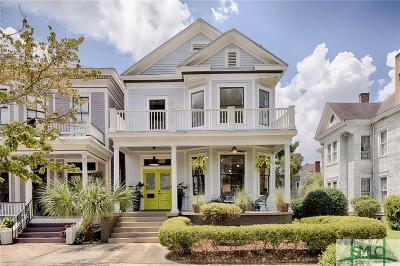 Savannah Single Family Home For Sale: 113 E 36th Street E