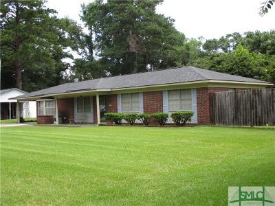 Savannah GA Single Family Home For Sale: $133,900