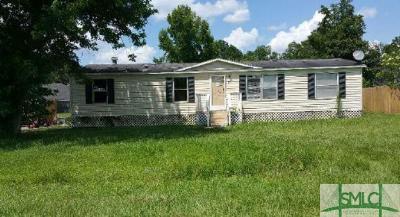 Savannah GA Single Family Home For Sale: $44,000