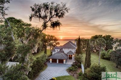 Savannah Single Family Home For Sale: 1736 Wilmington Island Road
