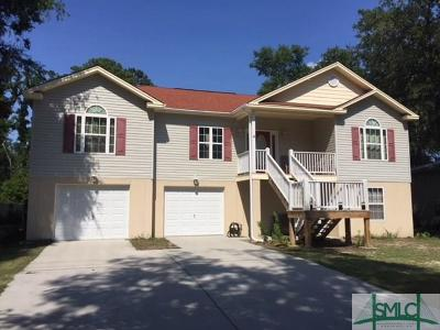 Wilmington Island Single Family Home For Sale: 920 Mims Street
