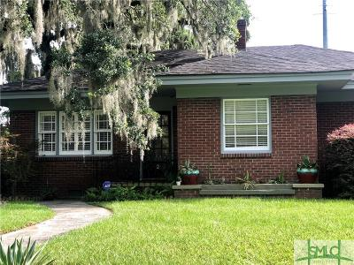 Savannah Single Family Home For Sale: 2 E 61st Street