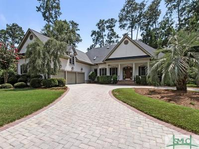 Savannah Single Family Home For Sale: 14 Log Landing Road