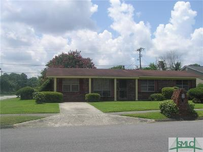 Savannah GA Single Family Home For Sale: $139,000