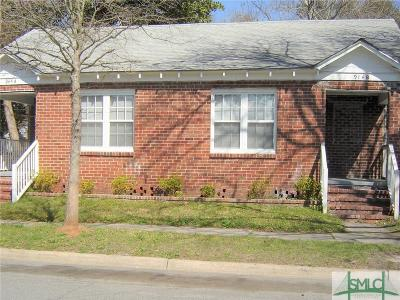 Savannah GA Multi Family Home Active Contingent: $149,900