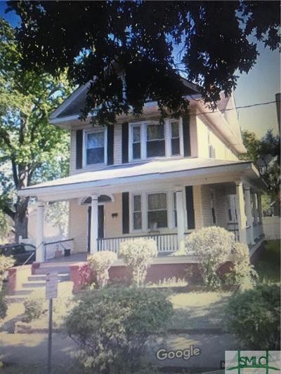 Savannah Single Family Home For Sale: 520 W 36th Street