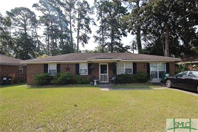 Savannah Single Family Home For Sale: 117 Wassaw Road