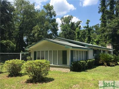Savannah Single Family Home For Sale: 5005 Jasmine Avenue