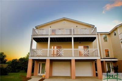 Tybee Island Condo/Townhouse For Sale: 44 Captains View