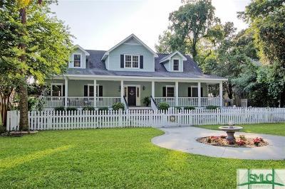 Savannah Single Family Home For Sale: 850 Wilmington Island Road