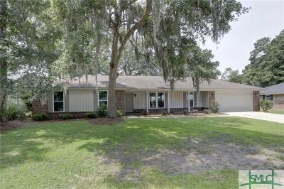 Savannah Single Family Home For Sale: 214 N Cromwell Road