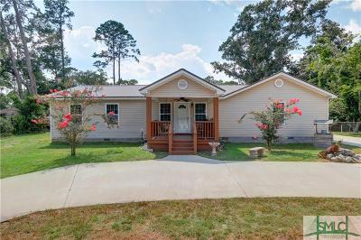 Savannah GA Single Family Home For Sale: $260,000