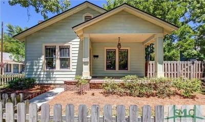Savannah Single Family Home For Sale: 902 E 39th Street