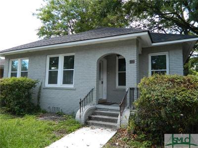 Savannah GA Single Family Home For Sale: $225,000