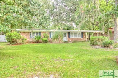 Savannah GA Single Family Home For Sale: $199,900