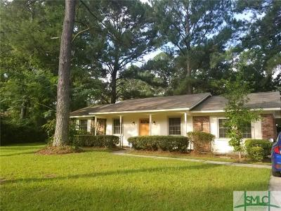 Savannah Single Family Home For Sale: 125 Holiday Drive