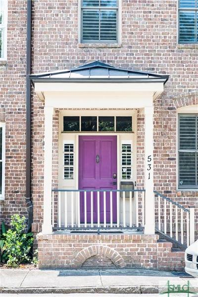 Savannah Condo/Townhouse For Sale: 531 E Perry Street