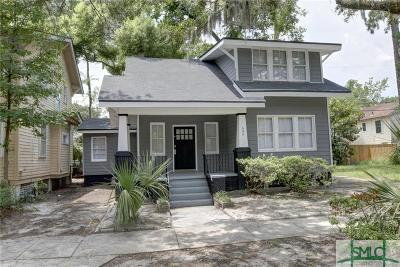 Savannah Single Family Home For Sale: 645 E 37th Street
