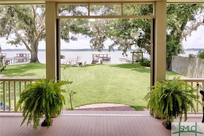 Savannah Single Family Home For Sale: 1744 Wilmington Island Road