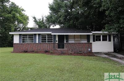 Savannah GA Single Family Home For Sale: $134,900