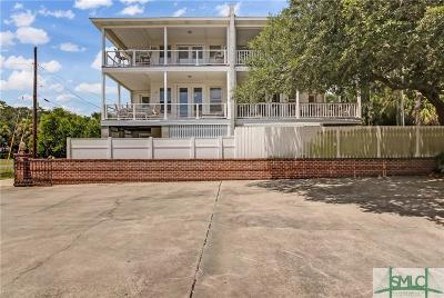 Tybee Island Condo/Townhouse For Sale: 6b 7th Terrace