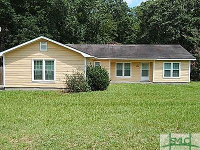 Statesboro Single Family Home For Sale: 229 Shuman Drive
