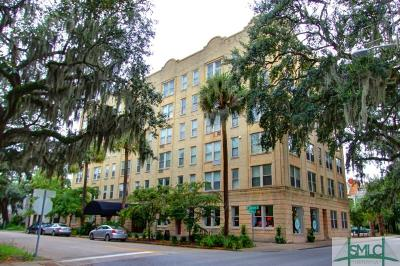 Savannah Condo/Townhouse For Sale: 106 W Gwinnett Street #D6