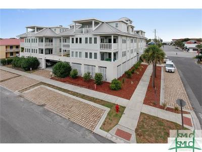 Tybee Island Condo/Townhouse For Sale: 1415 Butler Avenue #5