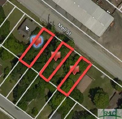 Savannah Residential Lots & Land For Sale: Mell Street