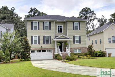 Savannah Single Family Home For Sale: 19 Dockside Drive