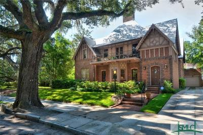 Savannah Single Family Home For Sale: 25 Washington Avenue