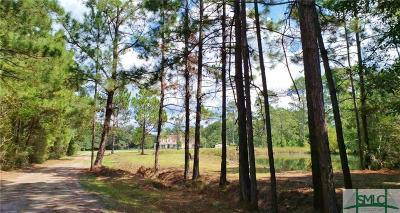 Guyton Single Family Home For Sale: 1445 Hodgeville Road