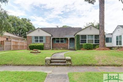 Savannah Single Family Home For Sale: 531 E 52nd Street