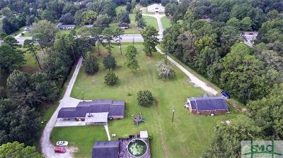 Pooler Single Family Home For Sale: 1272 West Us Highway 80 Highway W