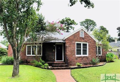 Savannah Single Family Home For Sale: 722 E 52nd Street
