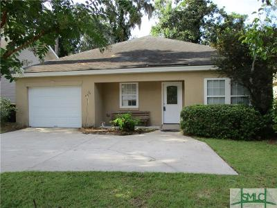 Savannah Single Family Home For Sale: 2419 Riviera Drive #A