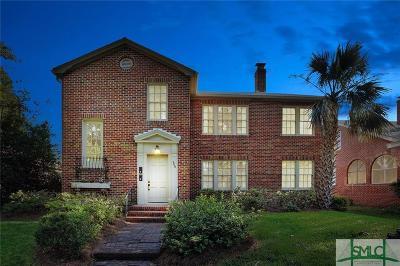 Savannah Single Family Home For Sale: 406 E 50th Street