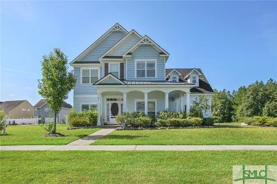 Port Wentworth Single Family Home For Sale: 502 Lakeside Drive