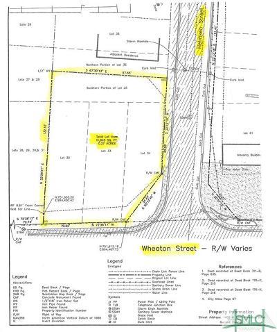 Savannah Residential Lots & Land For Sale: Wheaton Street