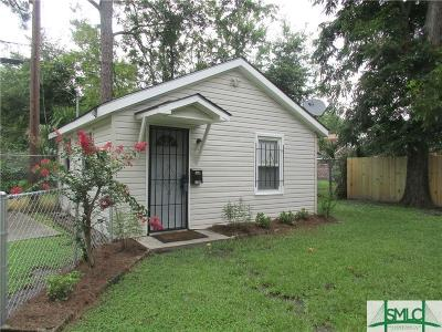 Savannah Single Family Home For Sale: 856 E 35th 1/2 Street